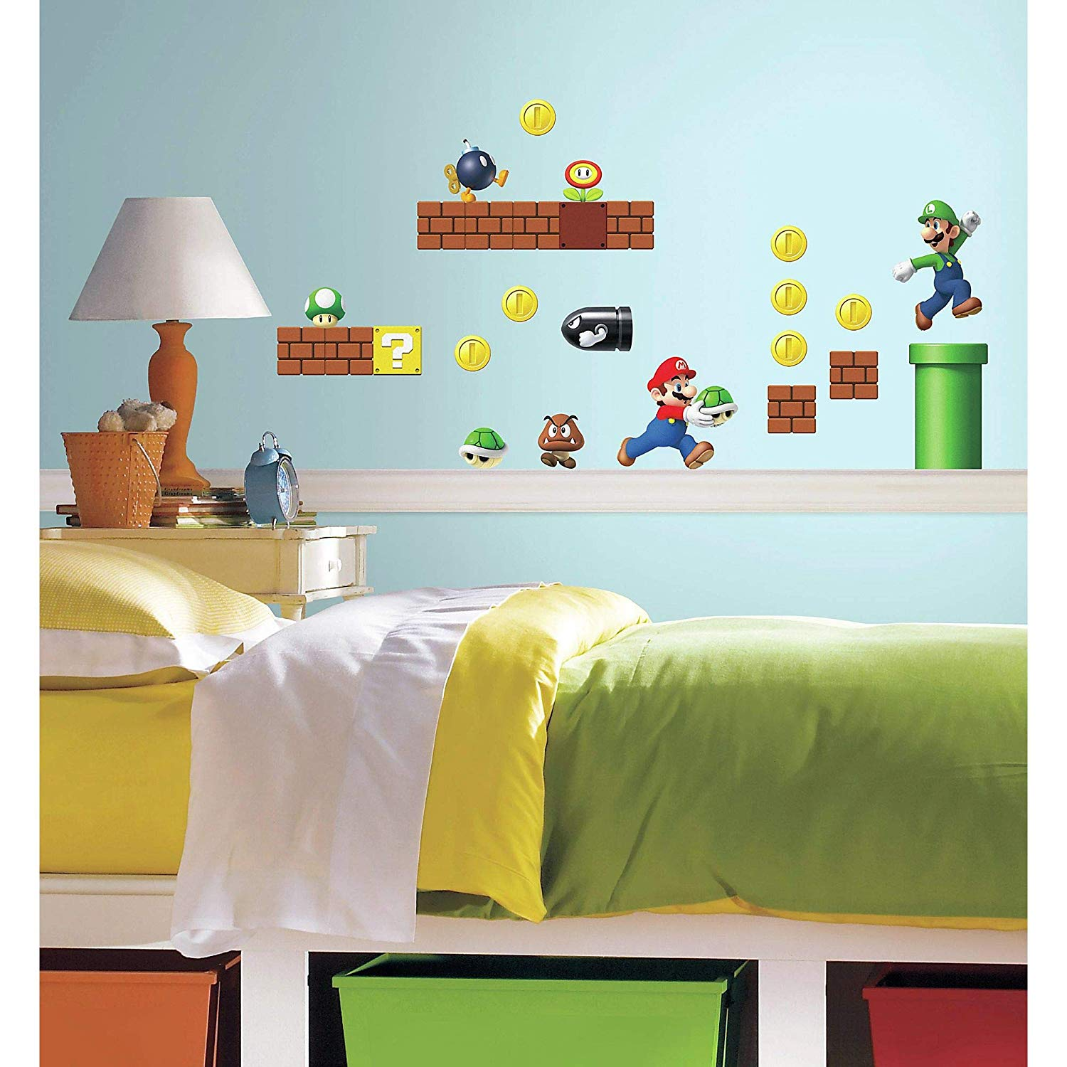 Nintendo-Super-Mario-Build-a-Scene-wall-decals